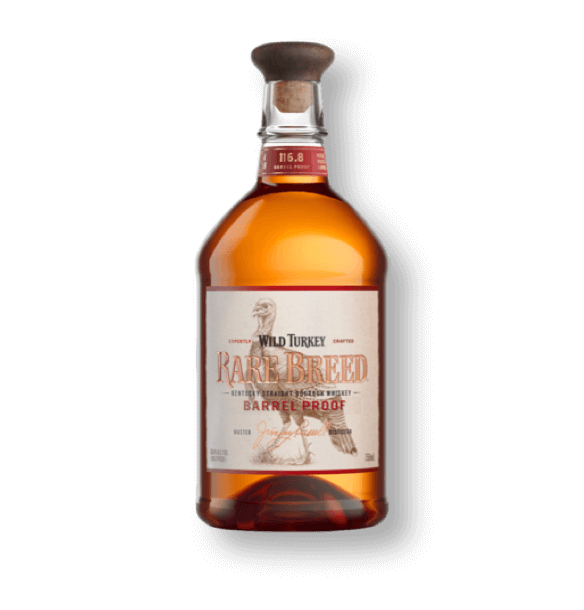 Rare Breed whiskey in bottle