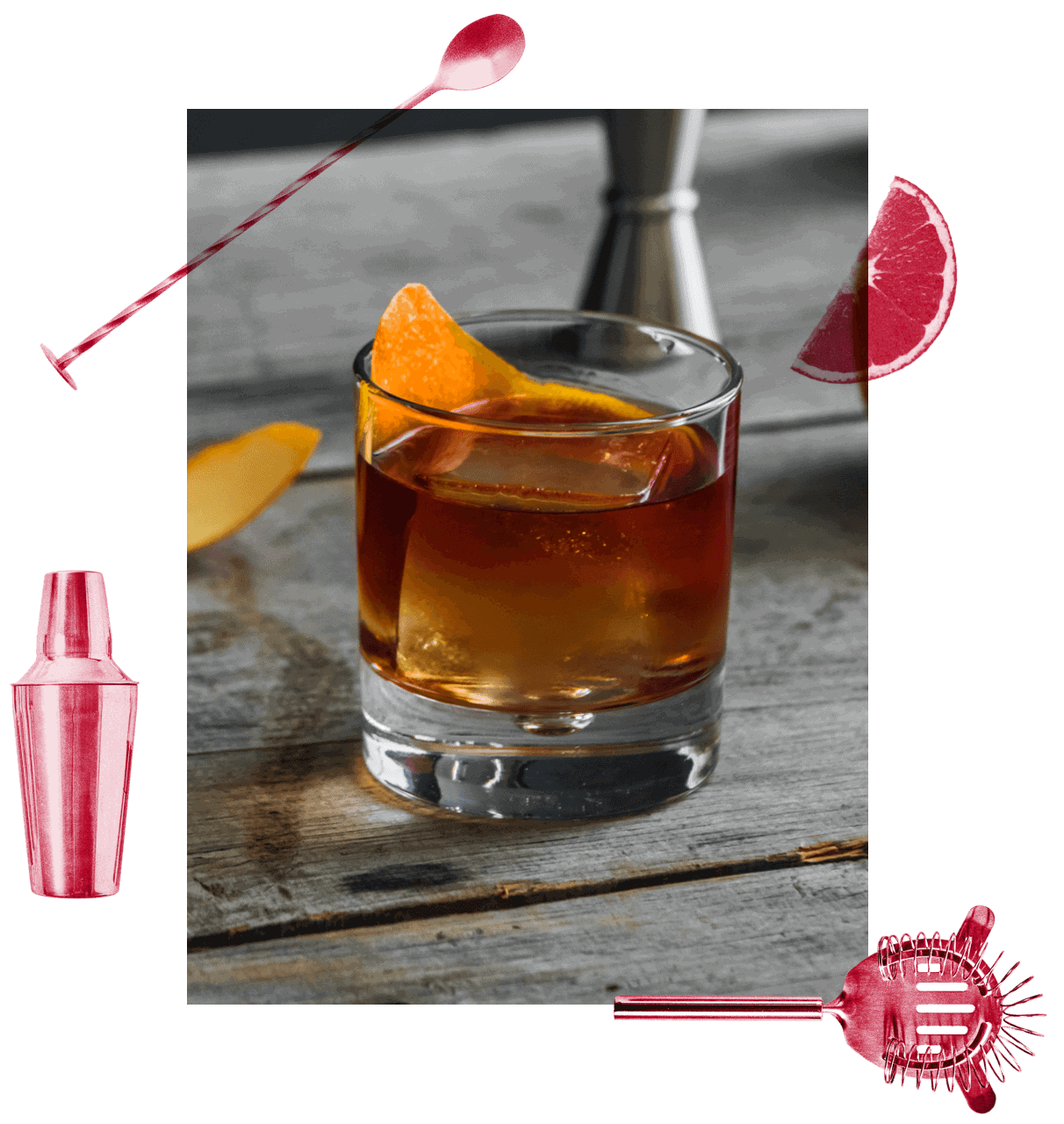 Old Fashion cocktail